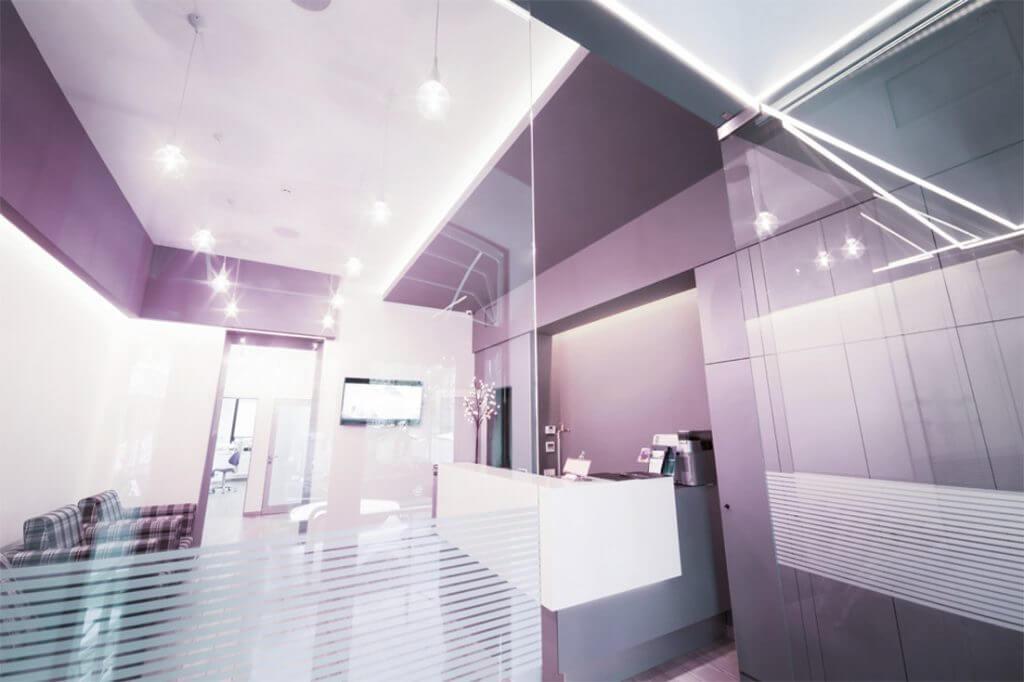 Plafoniere Minisun : Plafoniere per studio dentistico: studio. design interni