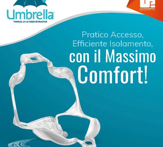apribocca monouso ombrella ultradent dental club