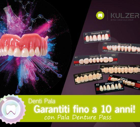 pala denture pass garanzia kulzer